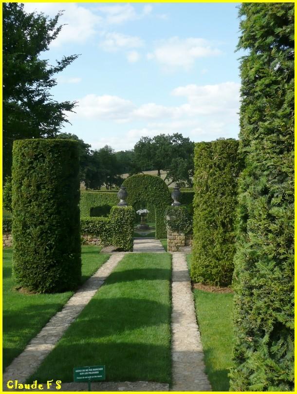 Les Jardins du Manoir d' Eyrignac en Dordogne Jardin32