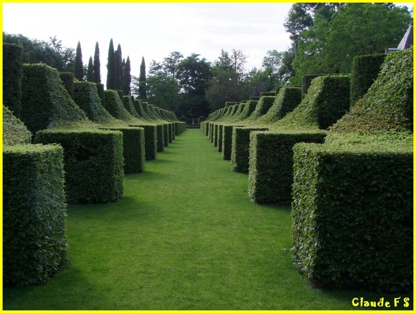 Les Jardins du Manoir d' Eyrignac en Dordogne Jardin34