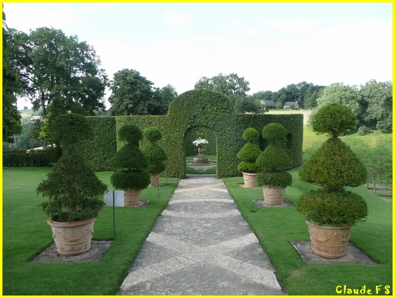 Les Jardins du Manoir d' Eyrignac en Dordogne Jardin36
