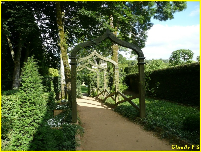 Les Jardins du Manoir d' Eyrignac en Dordogne Jardin37