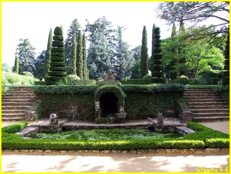 Les Jardins du Manoir d' Eyrignac en Dordogne Jardin39