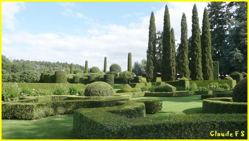 Les Jardins du Manoir d' Eyrignac en Dordogne Jardin41