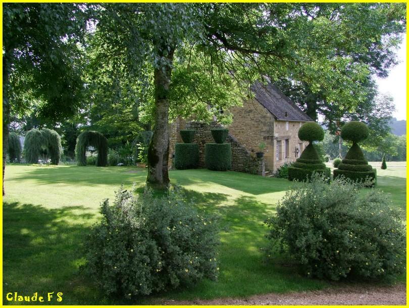 Les Jardins du Manoir d' Eyrignac en Dordogne Jardin42