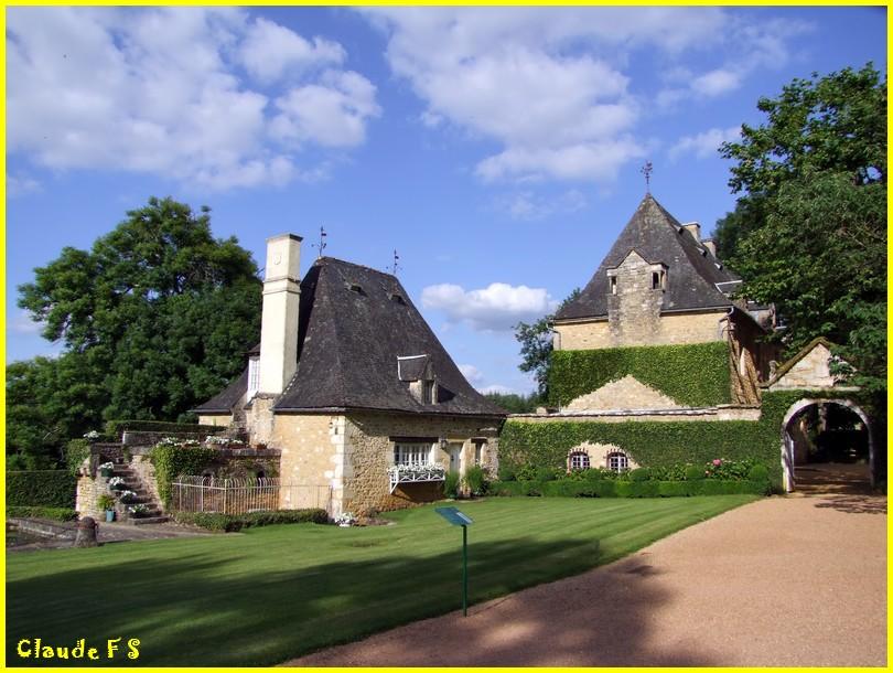 Les Jardins du Manoir d' Eyrignac en Dordogne Jardin43