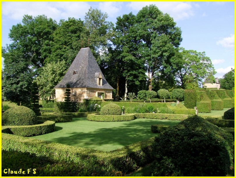 Les Jardins du Manoir d' Eyrignac en Dordogne Jardin45