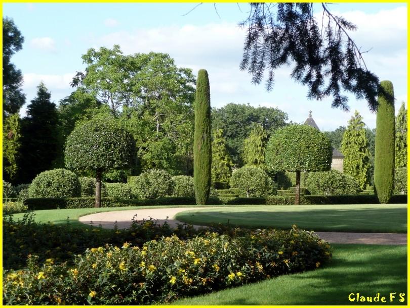 Les Jardins du Manoir d' Eyrignac en Dordogne Jardin46