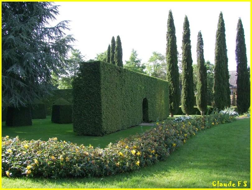 Les Jardins du Manoir d' Eyrignac en Dordogne Jardin50
