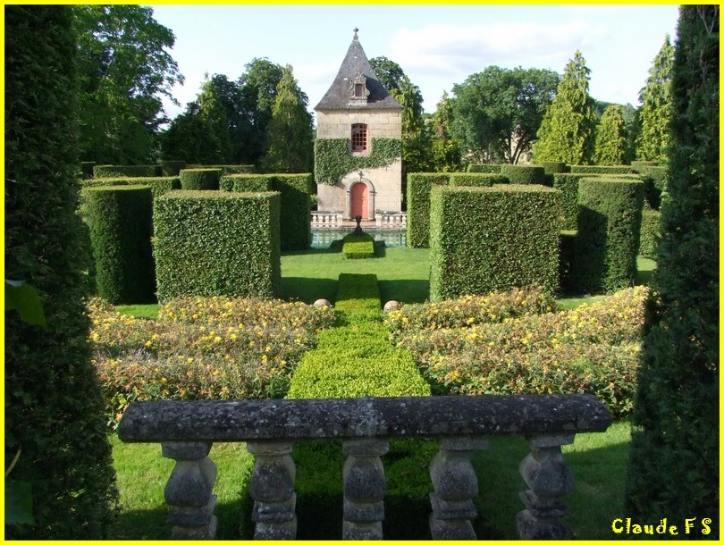 Les Jardins du Manoir d' Eyrignac en Dordogne Jardin51