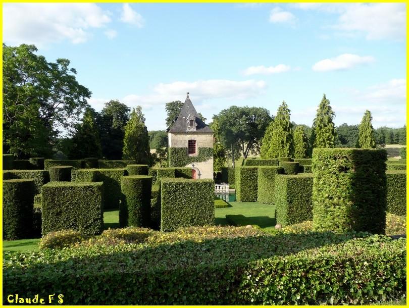 Les Jardins du Manoir d' Eyrignac en Dordogne Jardin52