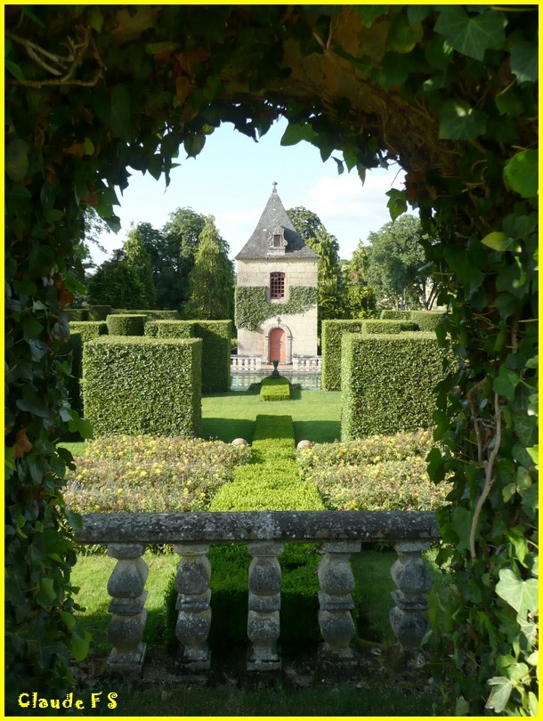 Les Jardins du Manoir d' Eyrignac en Dordogne Jardin53