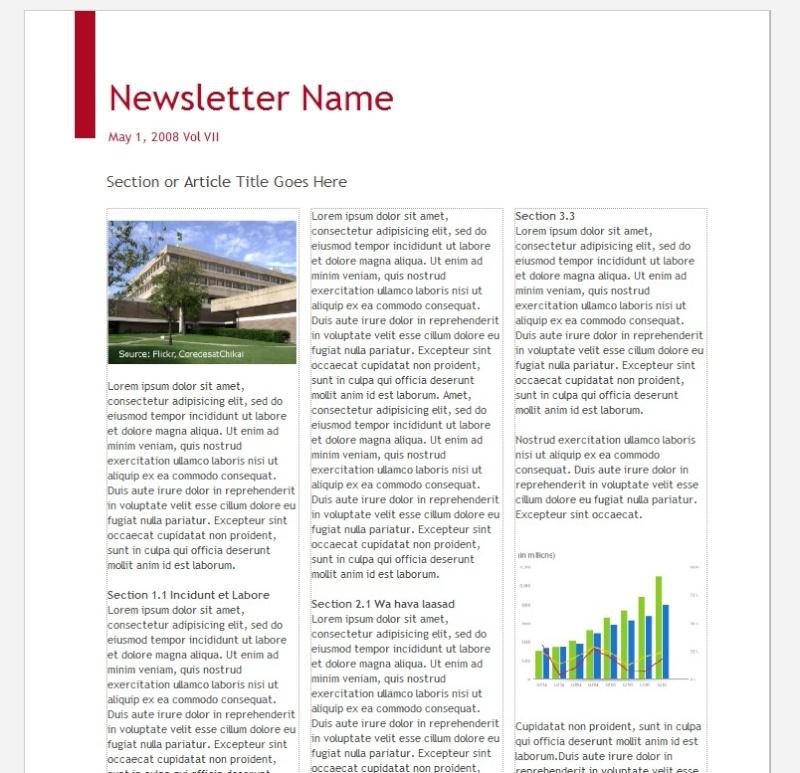 """Des """"templates"""" pour vos emails ou newsletters 2008-087"""