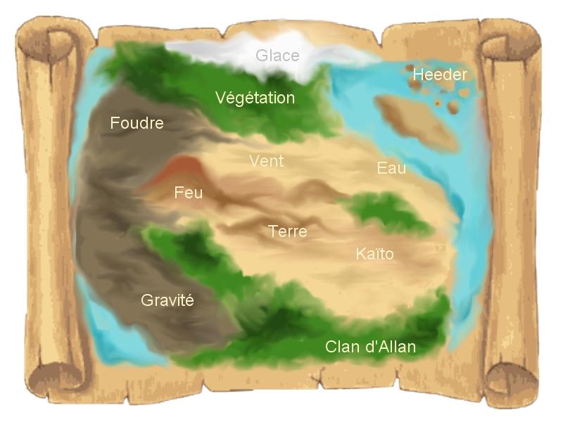 La carte du monde. Carte10