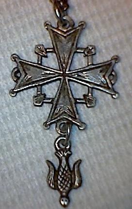 Croix huguenote - probablement XXème (ou fin XIXème) Croix_10