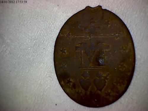 Médaille Miraculeuse dite de la rue du Bac Vierge11