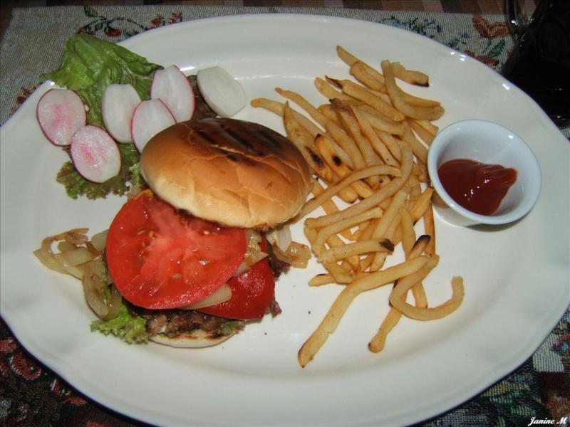 Hamburger de veau au féta à l'italienne !!(photo) Dscf1116