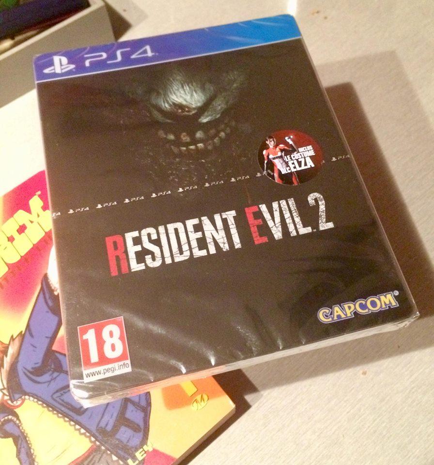 [RECH] Resident Evil 2 PS4 Édition Steelbook 50803410