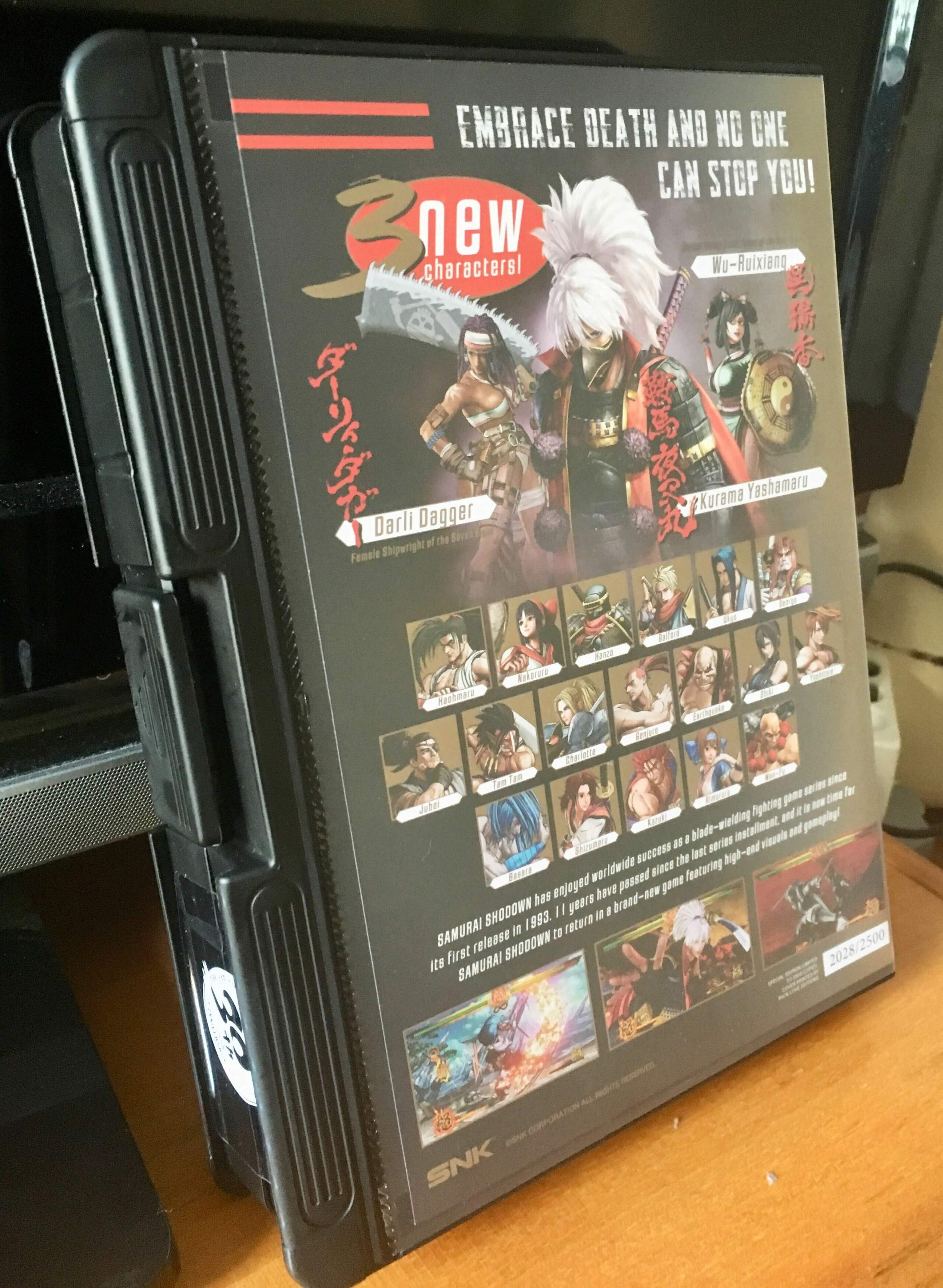 [VDS] Samurai Shodown Shockbox Gold Edition, GRIS first print, Skyrim, Lapis XL, Ghost Blade, Riot Image_16
