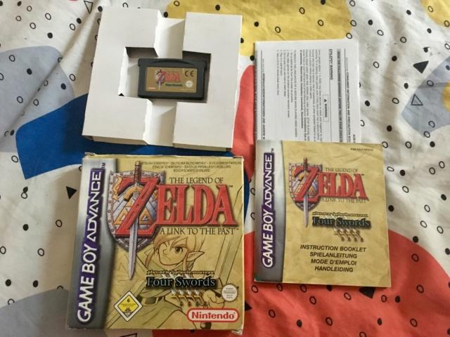 [VDS] lot jeux GBA complets: Zelda ALTTP & Pokemon Rubis Img_1912