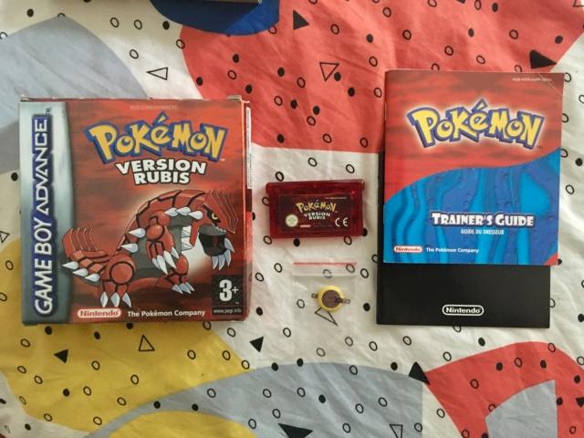 [VDS] lot jeux GBA complets: Zelda ALTTP & Pokemon Rubis Img_1913