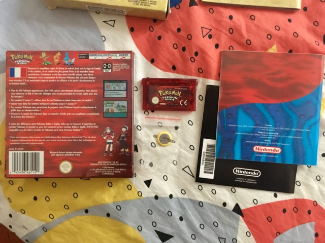[VDS] lot jeux GBA complets: Zelda ALTTP & Pokemon Rubis Img_1915