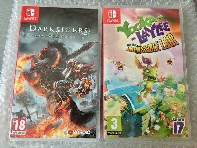 [VDS/ECH] GRIS SRG, Lapis Labyrinth XL, Blade Strangers, Dead Cells signature, Darksiders  Img_1920