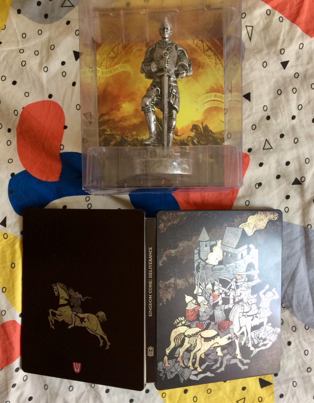 [ECH] steelbook et Statuette Kingdom Come Deliverance ps4 Img_2510