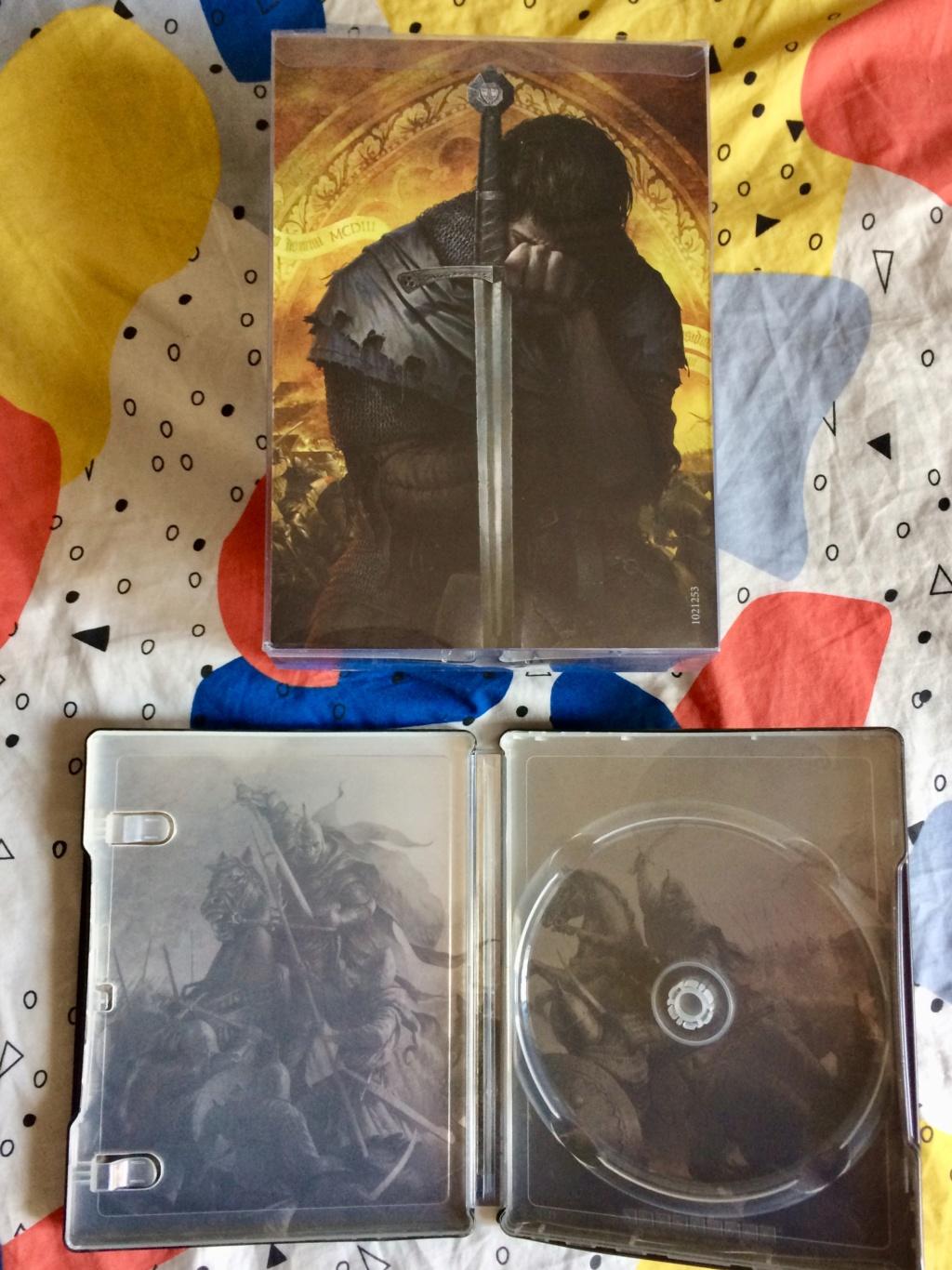 [ECH] steelbook et Statuette Kingdom Come Deliverance ps4 Img_2511