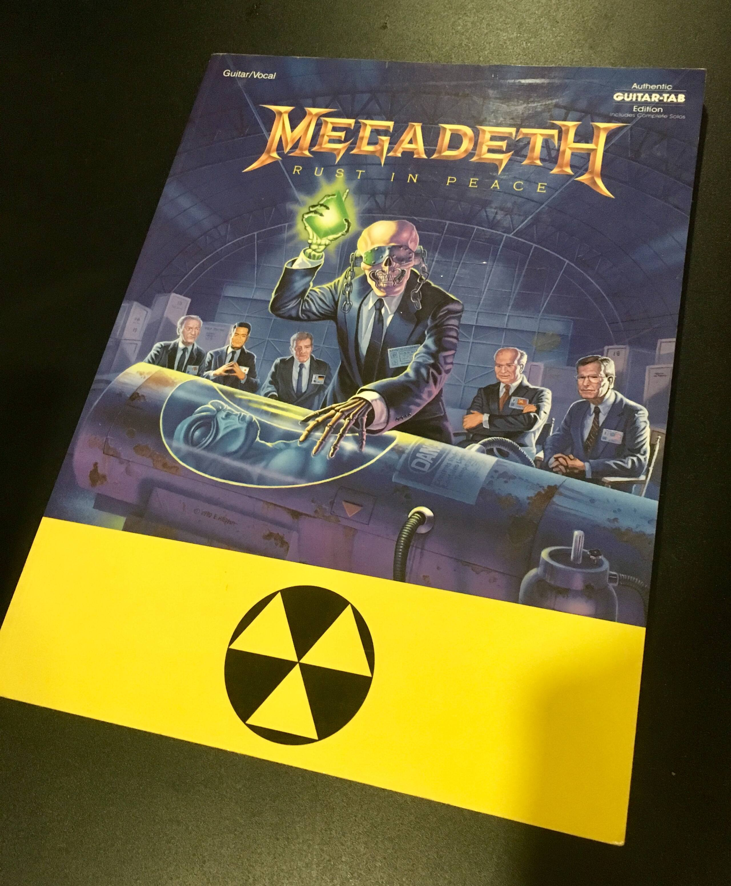 [VDS] Partitions Megadeth Rust in Peace Img_3210