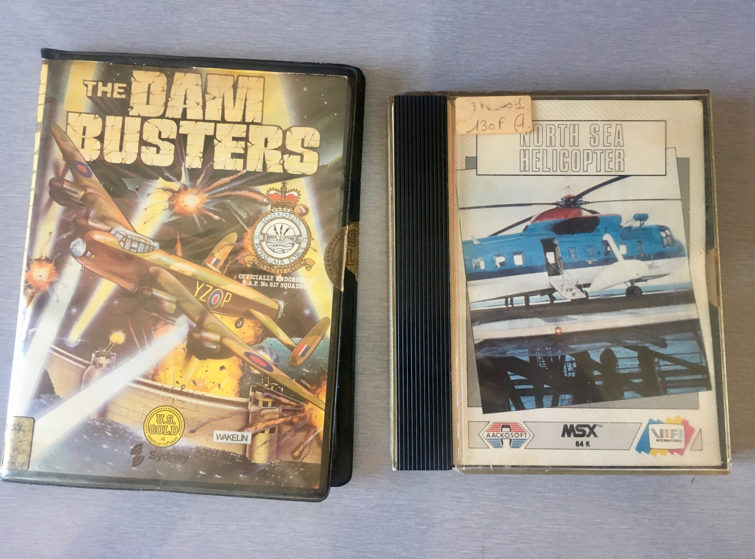 [EST] jeux MSX k7 complets: North Sea Helicopter (FR) + Dam Busters Img_3716