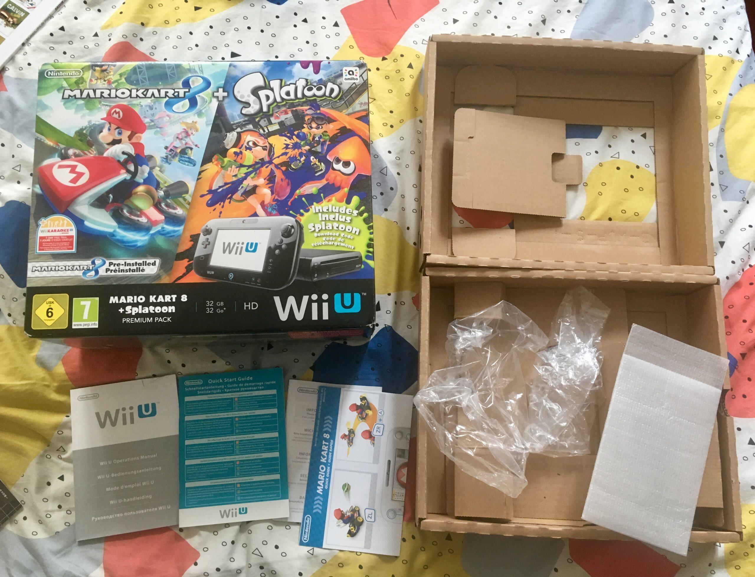 [VDS-ECH] plein d'orphelins: Boite+notice wiiU pack MKSplatoon, Notice Megadrive N64 Ps1, Boite notice R-Types, Pokemon Img_3719