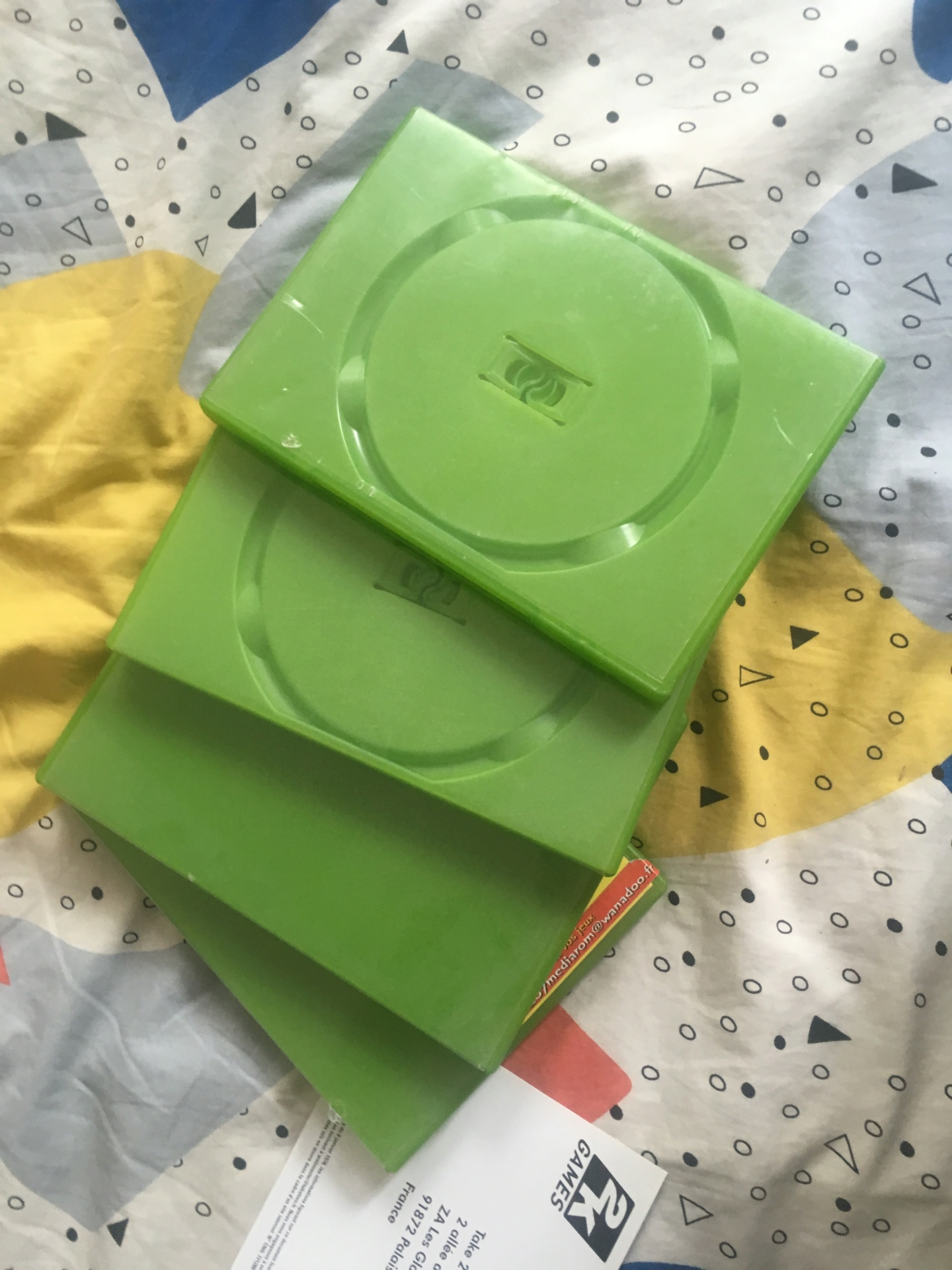 [VDS-ECH] plein d'orphelins: Boite+notice wiiU pack MKSplatoon, Notice Megadrive N64 Ps1, Boite notice R-Types, Pokemon Img_3815