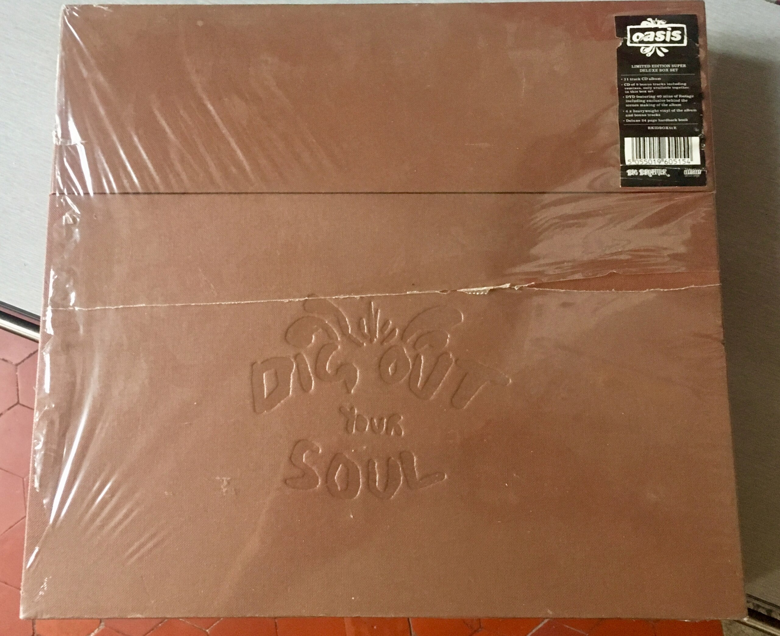 [VDS] OASIS - Dig Out Your Soul  Limited Edition Super Deluxe Box Set Img_3819