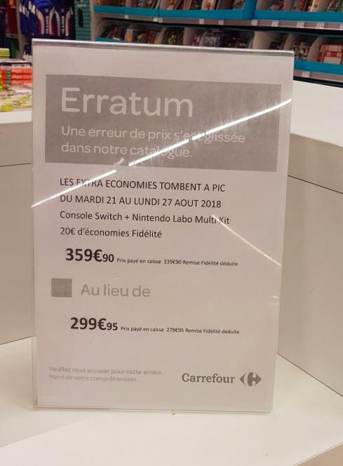 Vu dans les grandes enseignes (Auchan, Carrefour, FNAC...) - Page 5 Screen14