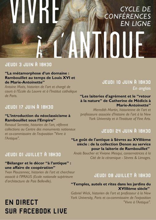 """Exposition """" Vivre à l'antique, de Marie-Antoinette à Napoléon Ier """" - Château de Rambouillet 18940510"""