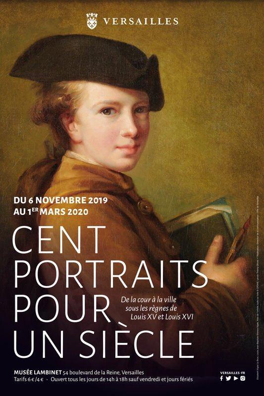 Cent portraits pour un siècle. Exposition au Musée Lambinet (Versailles) et Palais Lascaris (Nice) 68859510