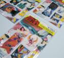 Diverses cartes, images et divers autocollants Rozea113