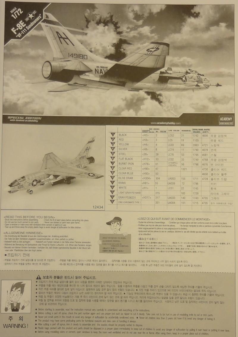 [Academy 1/72] F-8E Crusader Crouze10