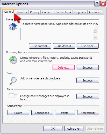 Изчистване на кеш паметта на браузъра Cache_10