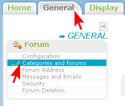 Categories and Forums - Creation and Appearance Cat_an10