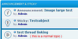 Stickies and Announcements Sticky12