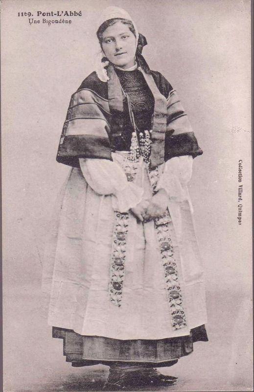 datation costume féminin bigouden - Page 2 Bigoud19