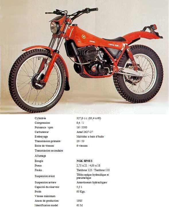 MONTESA COTA 330 33010