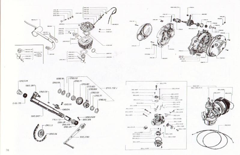 Restauration Montesa cota 49 (50cc) Montes13