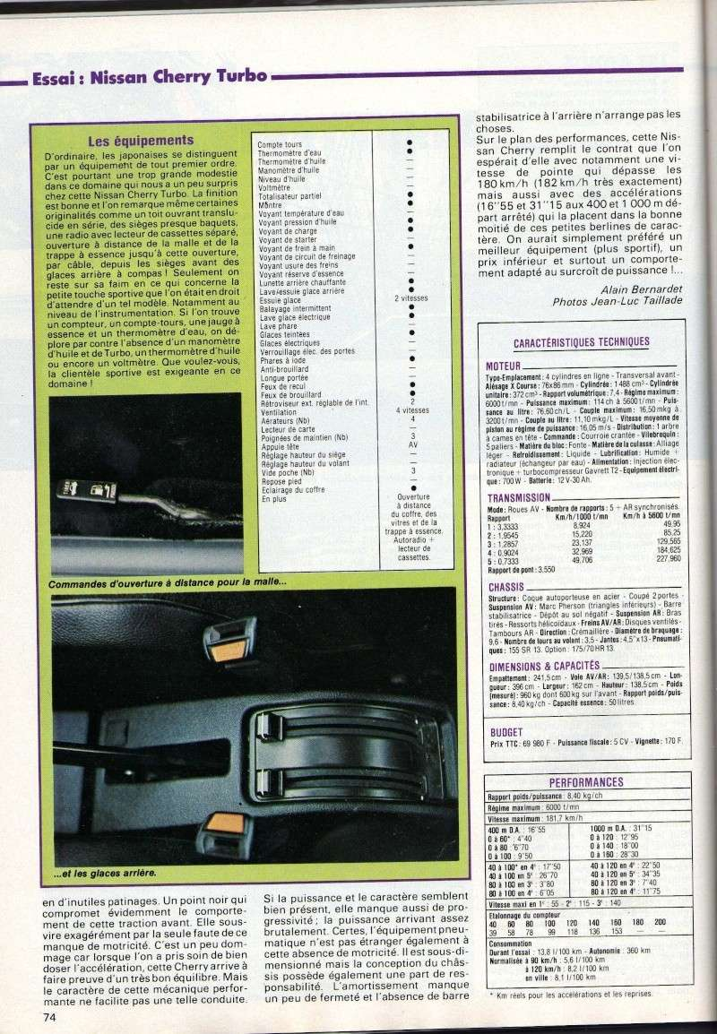 TOPIC OFFICIEL NISSAN CHERRY N12 et N12 TURBO! & N12 PUL Img17610
