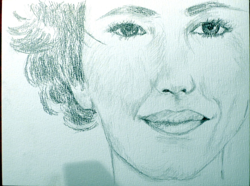 Jeu = dessin portrait de stars! 01711