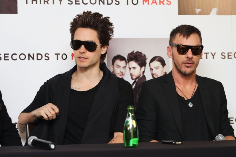 [2011] 30 Seconds To Mars / Conférence de presse / Mexico  00120