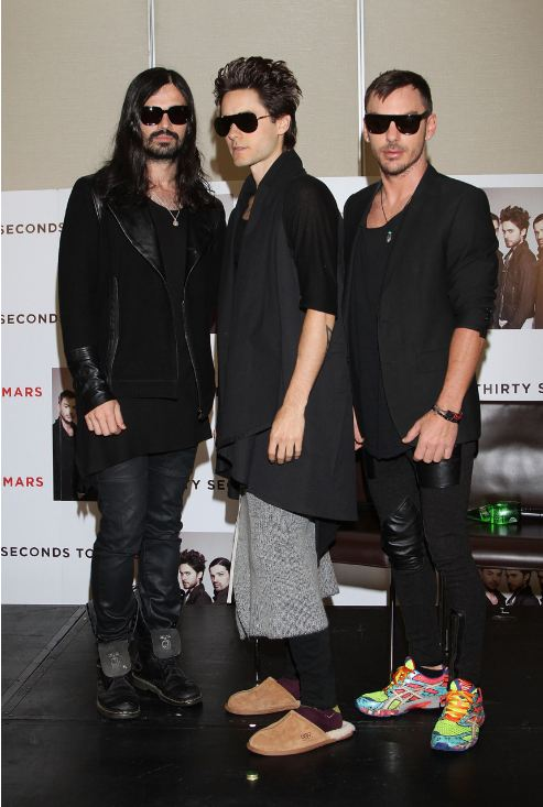 [2011] 30 Seconds To Mars / Conférence de presse / Mexico  00320