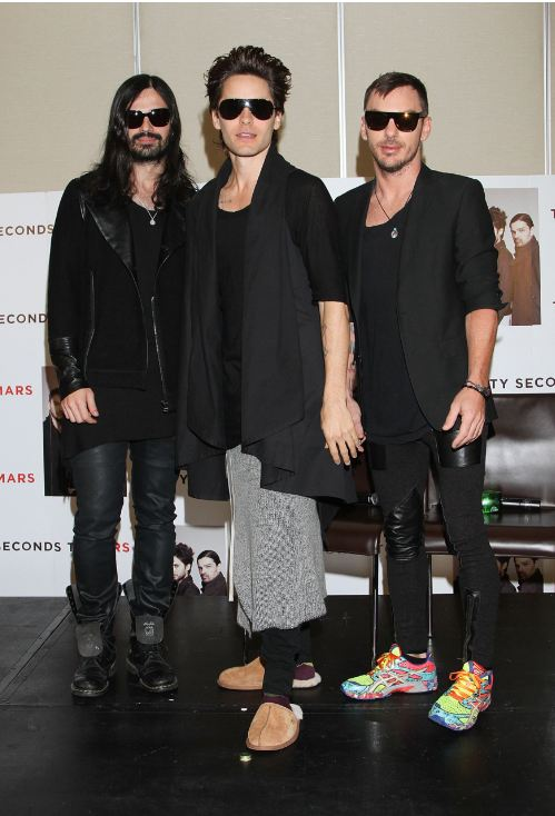 [2011] 30 Seconds To Mars / Conférence de presse / Mexico  00614