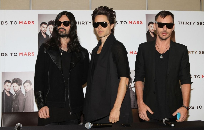 [2011] 30 Seconds To Mars / Conférence de presse / Mexico  00713
