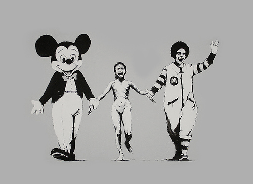 Banksy inspire 30 Seconds To Mars 6a014e10